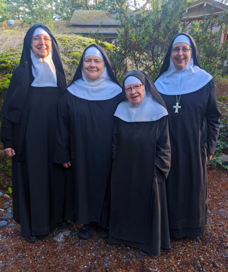 Installaion of New Prioress by Mother Abbess Lucia